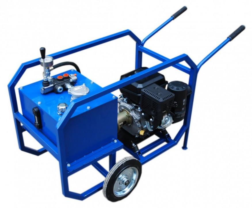 Гидростанции с мощностью бензодвигателя 4 л.